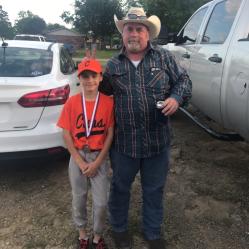 Logan and his Papa (my Dad)