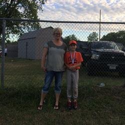Logan and his Grandma (my Mom)